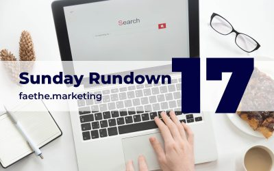 Sunday Rundown #17 – Potential changes to .org