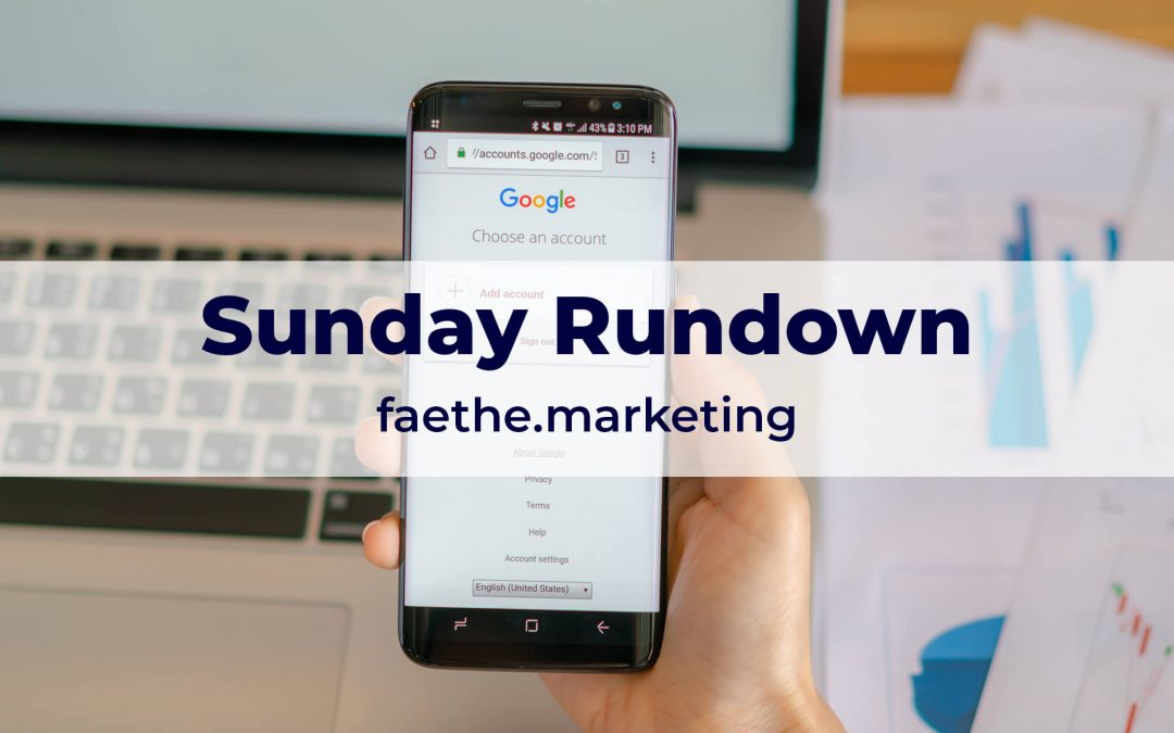 Sunday Rundown: Google adds two new link attributes