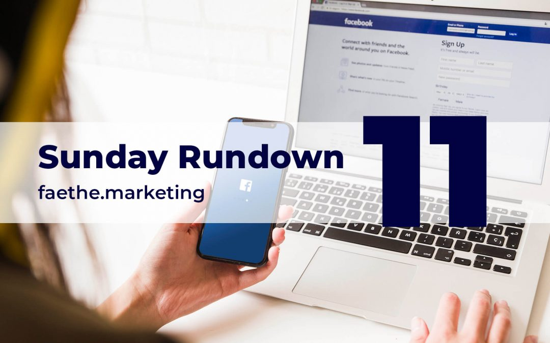 Sunday Rundown #11 – WT Social, Facebook's rival