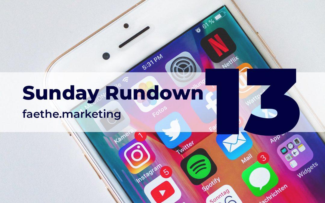 Sunday Rundown #13 – Digital advertising in 2020