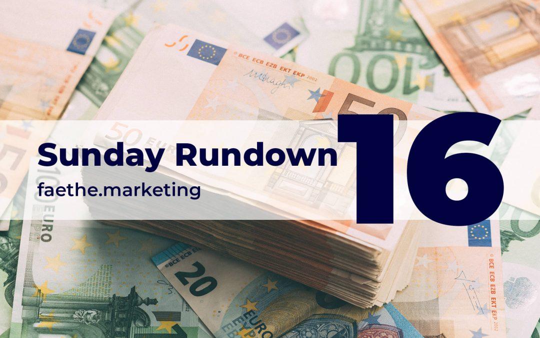 Sunday Rundown #16 – No tax cheats in France