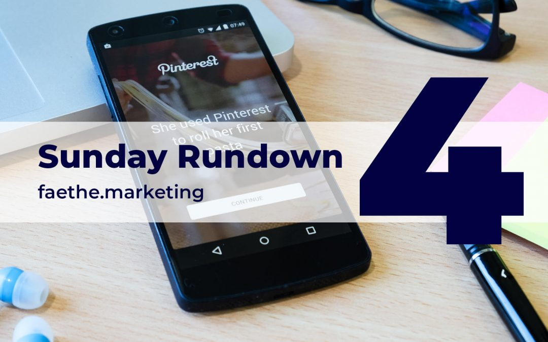 Sunday Rundown: Pinterest adds new shopping ads