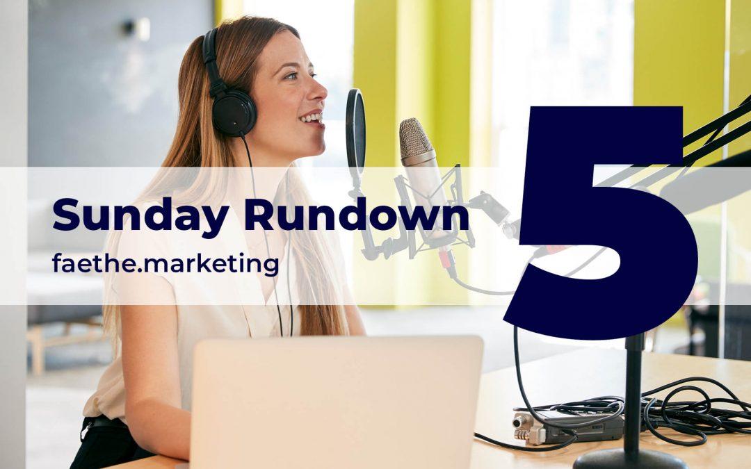 Sunday Rundown: The Era of Big Podcasting is back