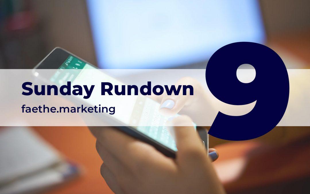Sunday Rundown: WhatsApp Business product catalogs