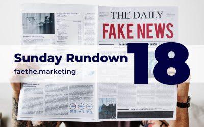 Sunday Rundown #18 – Misinformation on coronavirus