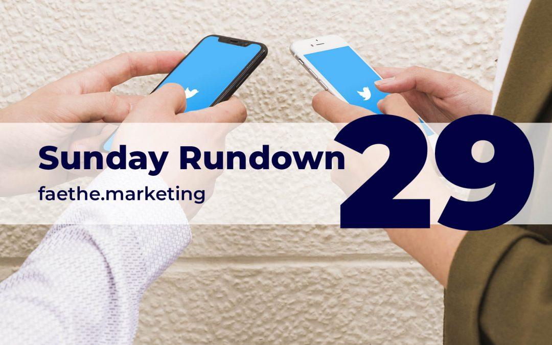 Sunday Rundown #29 – Twitter fact-checked Trump