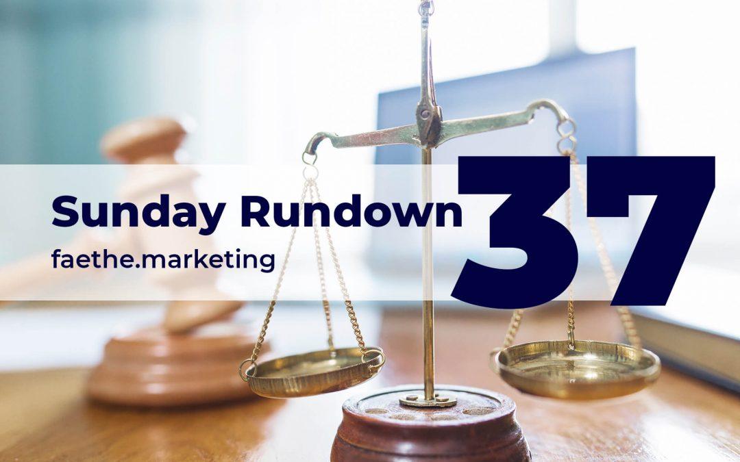 Sunday Rundown #37 – A wild antitrust hearing appears