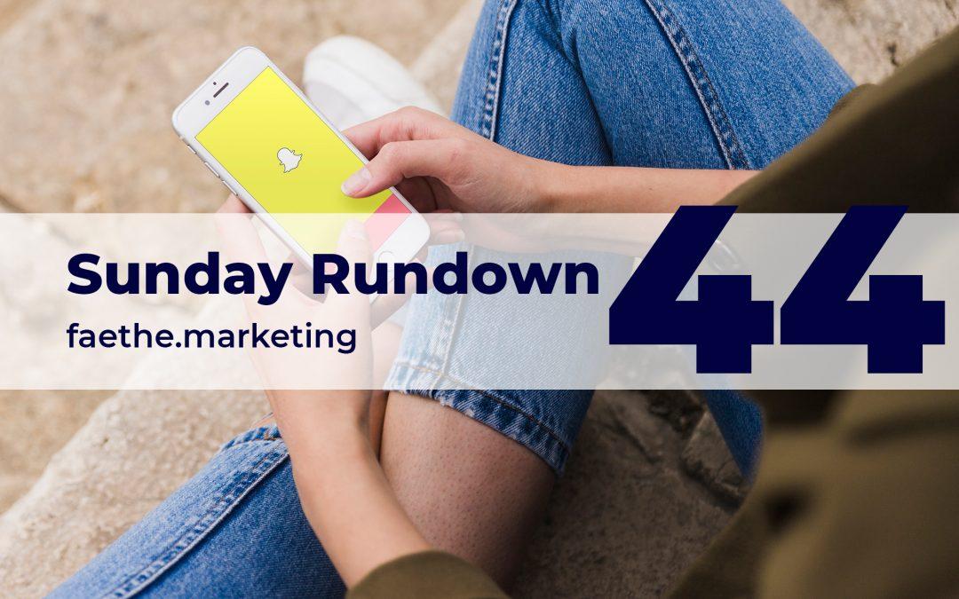 Sunday Rundown #44