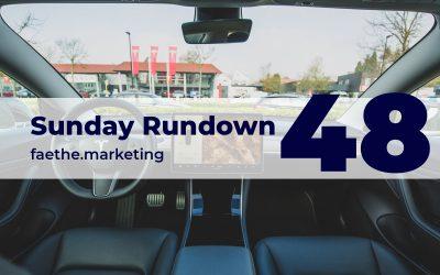 Sunday Rundown #48 – Tesla has no PR department