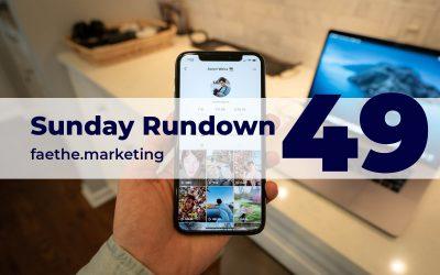Sunday Rundown #49 – TikTok deal affects ad plans