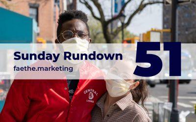 Sunday Rundown #51 – Covid-19 and people