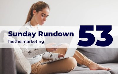 Sunday Rundown #53 – Up and Downvotes on FB