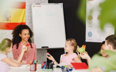 Digital marketing for a language school