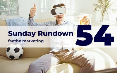 Sunday Rundown #54 – Cold beer while gaming