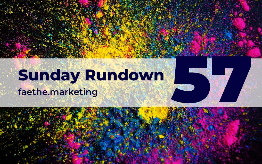 Sunday Rundown #57 – Colour of the year