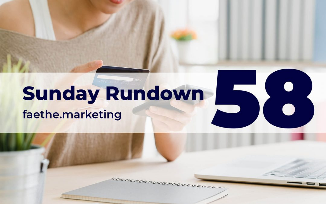 Sunday Rundown #58 – Shop on Instagram Reels