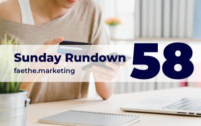 Sunday Rundown #58 – Shop on Instagram Reels