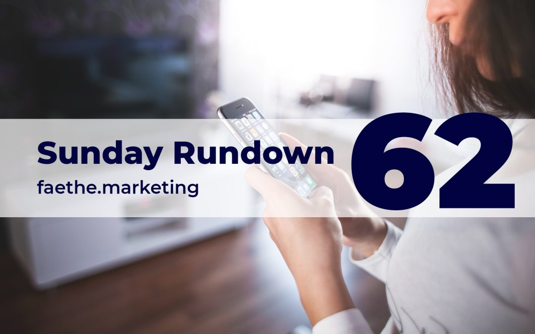 Sunday Rundown #62 – Tim Cook vs. Facebook