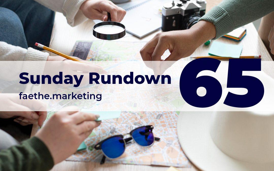 Sunday Rundown #65 – New Google Maps