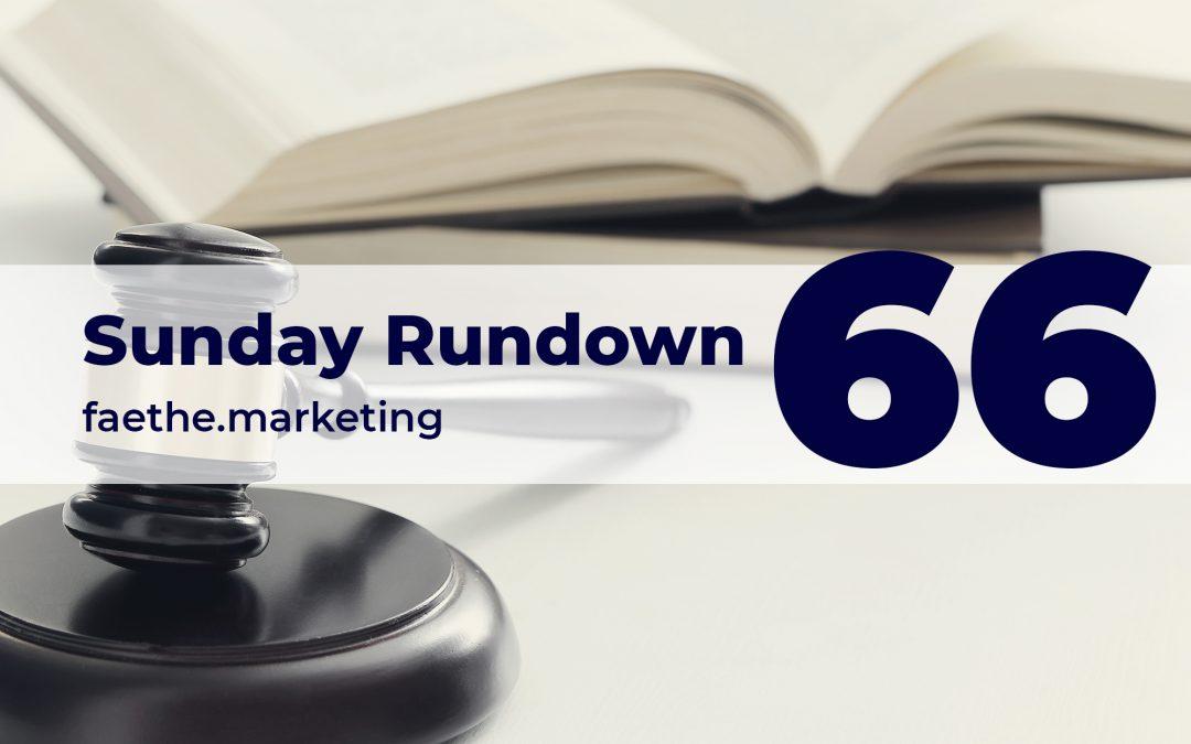 Sunday Rundown #66 – Section 230